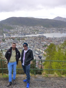 Ben (L) and me (R).