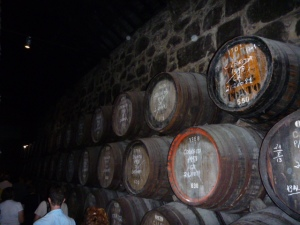 Tour of Calem Port Winery, Porto, Portugal.