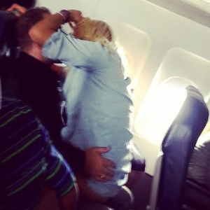 Don't be doing this on your flight!
