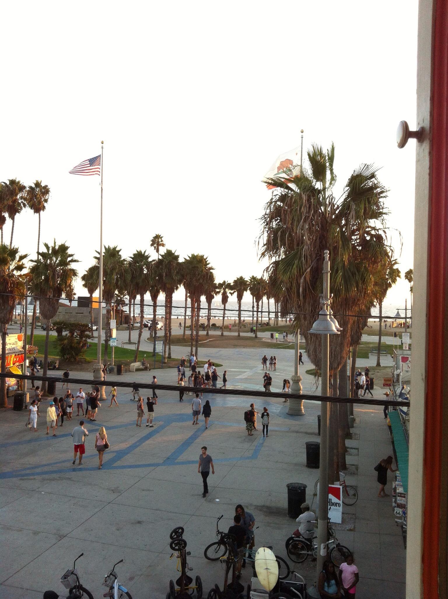 Santa Monica Pier & Venice Beach